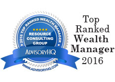 AdvisoryHQ: RCG Top Ranked Wealth Manager