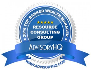 AdvisoryHQ Award: 2016 Top Ranked Wealth Manager