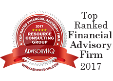 AdvisoryHQ Top Rated Financial Advisory Firm 2017