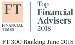 Financial Times Top Financial Advisers 2018 Logo